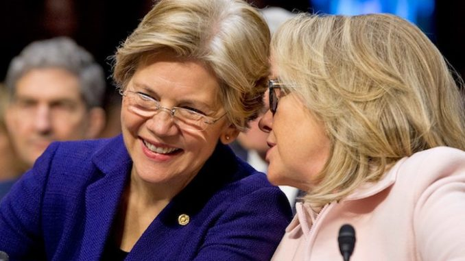 Hillary Clinton is now officially advising Elizabeth Warren on how to beat Trump in 2020