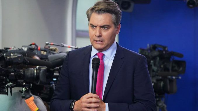 CNN's Jim Acosta refers to America as a nasty, vicious country under Trump