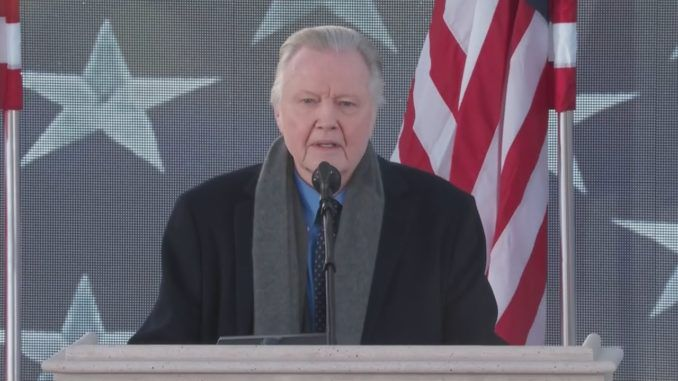 "Oscar-winner Jon Voight has called the Democrats' impeachment inquiry into President Donald Trump a ""war against truths."""