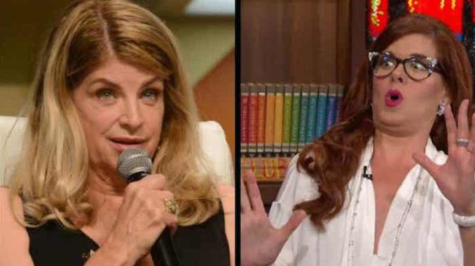 Kirstie Alley blasts intolerant Hollywood lefties for blacklisting Trump supporters