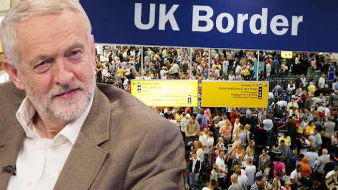 British Labour party vow to give voting rights to foreigners