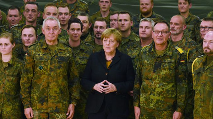 Chancellor Merkel says USA will no longer play defender for Europe