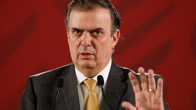 Mexican foreign minister vows to destroy white supremacy in the United States of America