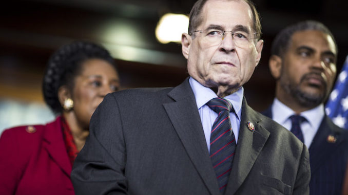 The Justice Department reject Jerrold Nadler's request for grand jury Mueller documents