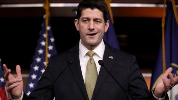 """Former House Speaker Paul Ryan is urging Fox News to """"decisively break"""" with President Trump, according to a new Vanity Fair report."""