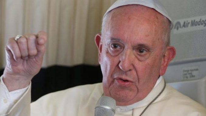"""Far-left Pope Francis has ordered Christians to stop trying to """"attract more people"""" to come unto Christ and join the Christian faith."""