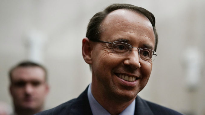 Rod Rosenstein offered reporters to be anonymous source shortly before Mueller appointment
