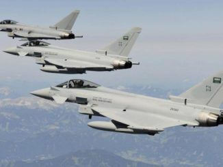 Saudi jets bomb Iranian forces in Syria