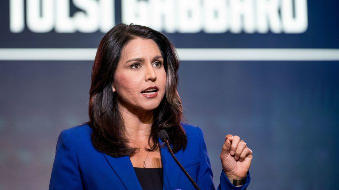 Rep. Tulsi Gabbard does not support House Speaker Nancy Pelosi's decision to launch an impeachment inquiry against President Trump.