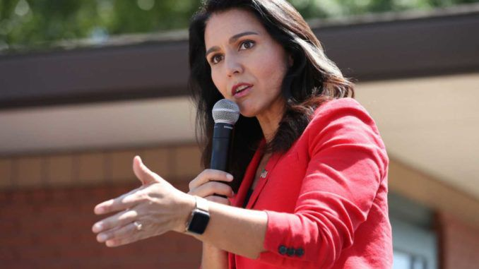 Tulsi Gabbard slams Trump for putting Saudi Arabia's interests over America