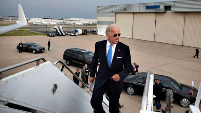 Joe Biden spent $924,000 on private jets to lecture Americans on global warming dangers