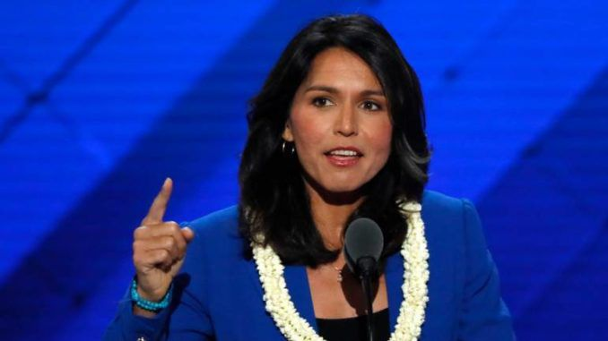 Rep. Tulsi Gabbard declares war on Hillary Clinton and the D.C. elite