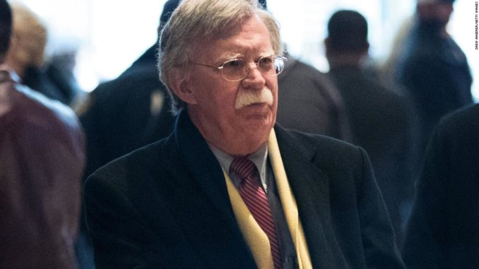 There is a lot of speculation in conservative circles that former National Security Adviser John Bolton is the second whistleblower.