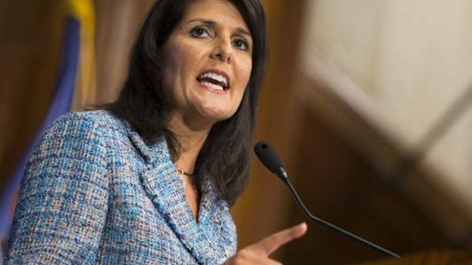 Nikki Haley slams Trump officials working to secretly undermine his presidency