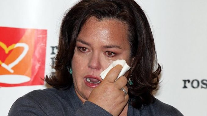 Rosie O'Donnell deleted a Twitter poll after 57% of respondents voted against the idea of impeaching President Trump.