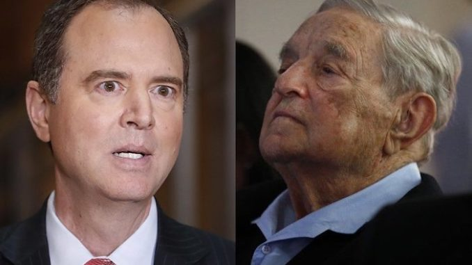 Adam Schiff's career aided by Soros-funded groups