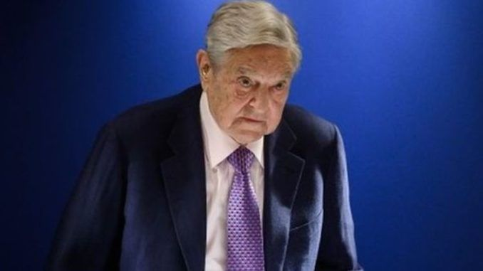 "Billionaire globalist George Soros has declared that his critics are ""would-be dictators"" who will not succeed."