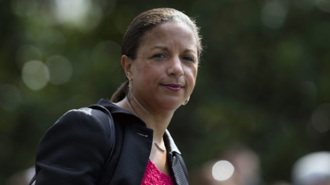 Former National Security Adviser Susan Rice has criticized President Donald Trump over his handling of the successful US military operation that killed the leader of ISIS.