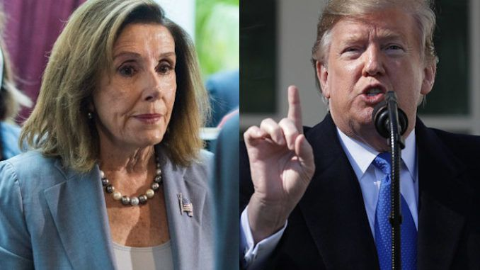 President Trump tells Nancy Pelosi he won't cooperate with impeachment probe