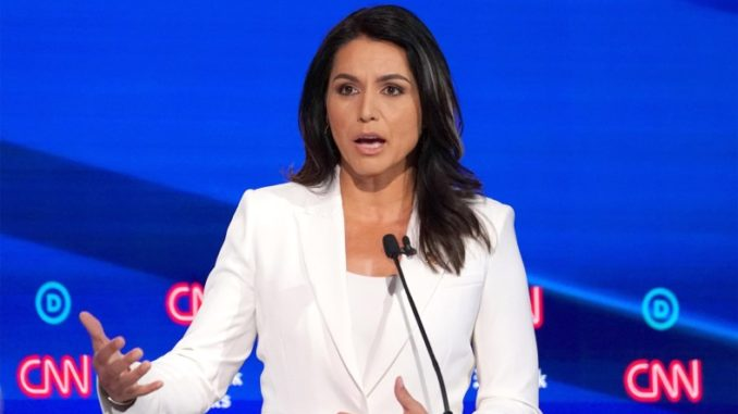 """Hawaii Rep. Tulsi Gabbard said CNN and the New York Times are """"totally despicable"""" for smearing her as a Russian asset."""