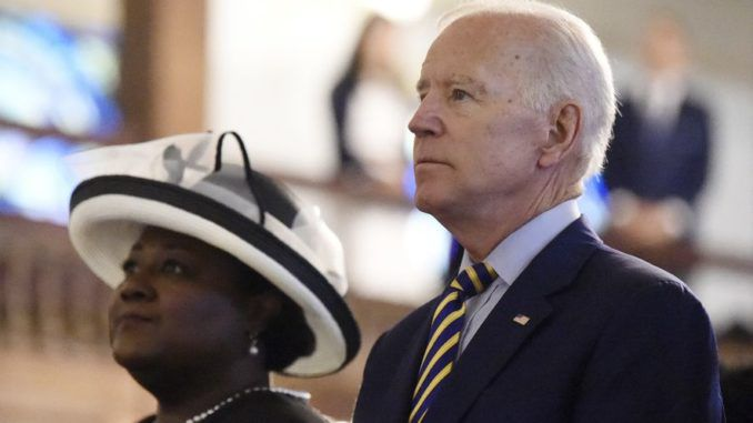 Former Vice President Joe Biden was denied Holy Communion at a Catholic Church in South Carolina Sunday because of his ungodly policies and actions, including his new position in favor of abortion.
