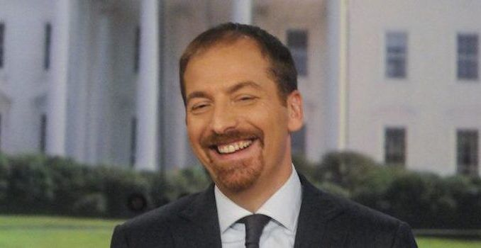 Meet the Press moderator Chuck Todd has been caught bragging about suppressing news and keeping NBC viewers in the dark about potential Democrat corruption.