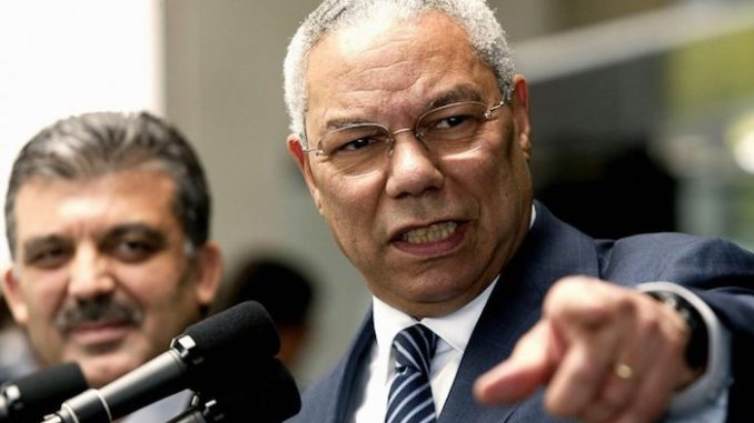 """Former secretary of state Colin Powell, who was instrumental in selling the disastrous Iraq War, is now claiming that President Donald Trump's foreign policy is in """"shambles."""""""