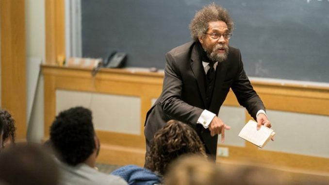 "Harvard professor Cornel West has urged ""black folk"" to protest President Donald Trump by hitting the streets, turning America into Hong Kong, and going to jail."