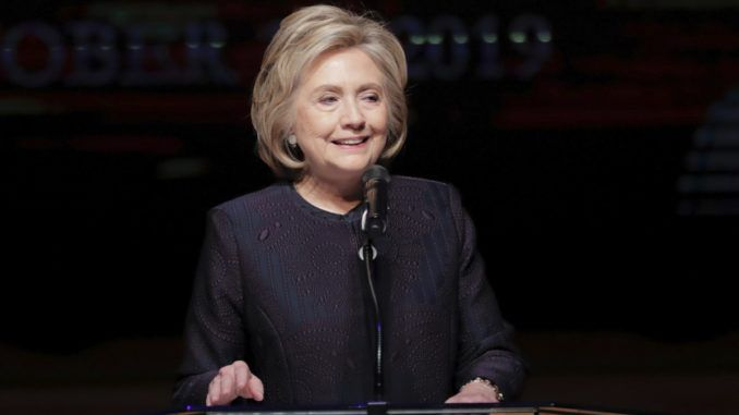 Hillary Clinton was invited to speak at the funeral of Rep. Elijah Cummings in Baltimore on Friday, but she seemed more interested in using the platform to make sly digs at the president and first lady than eulogizing the late congressman.