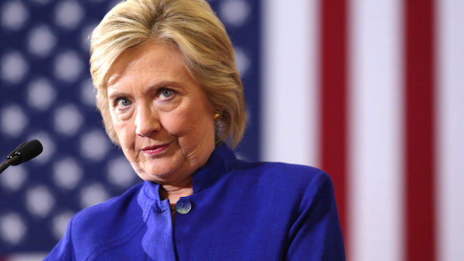 """Twice-failed presidential candidate Hillary Clinton said that """"maybe"""" she needs a """"rematch"""" with President Donald Trump, before proving her eternal sore-loser status by adding """"obviously, I can beat him again."""""""