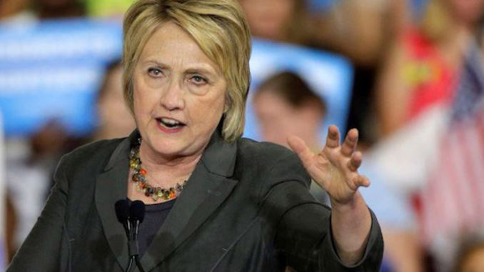 Hillary Clinton admits it will be hard to beat Trump in 2020 unless he is impeached