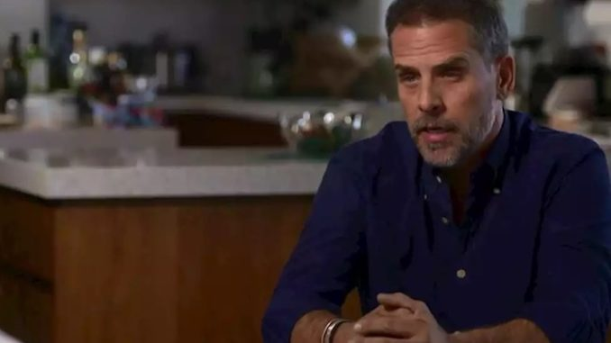 """Joe Biden's son Hunter Biden has finally emerged from 'hiding' just four days after President Trump's campaign had started selling """"Where's Hunter?"""" t-shirts."""