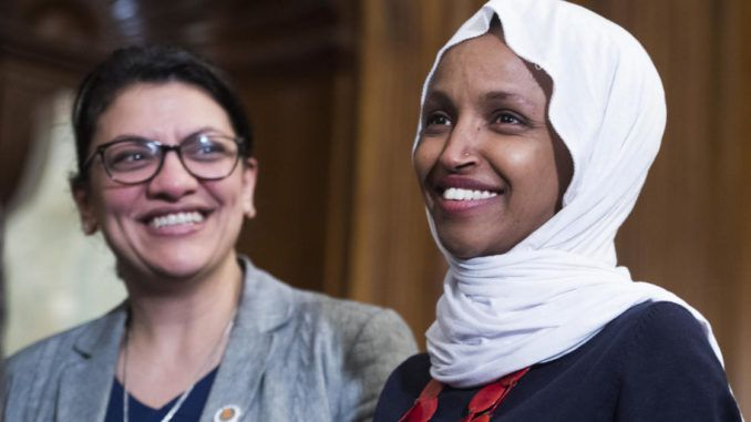 """Rep. Ilhan Omar (D-MN) said Americans don't like being reminded that """"we have been a villain"""" during an appearance on TBS's Full Frontal with Samantha Bee."""