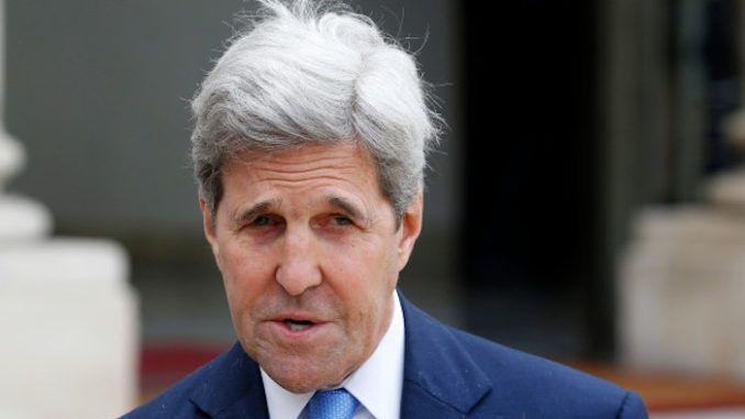 John Kerry says evidence against President Trump more powerful than Nixon impeachment