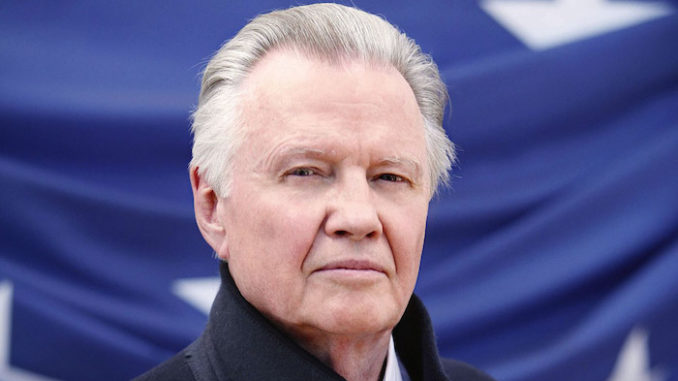 """Oscar-winning actor Jon Voight ripped the Democrat Party in an interview Wednesday, saying he used to support the party but """"The Democratic party doesn't represent America anymore."""""""