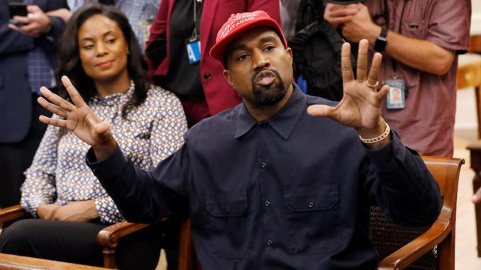 "Kanye West praised Abraham Lincoln during a ""Sunday Service"" performance in Salt Lake City, saying ""The Republican Party freed the slaves."""