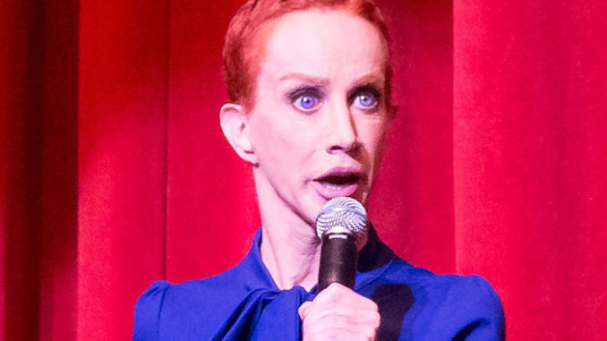 Kathy Griffin attacks Trump supporters over satire video