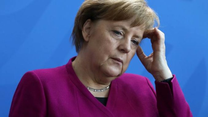"German Chancellor Angela Merkel told young party members that her attempt to create a multicultural society has ""utterly failed."