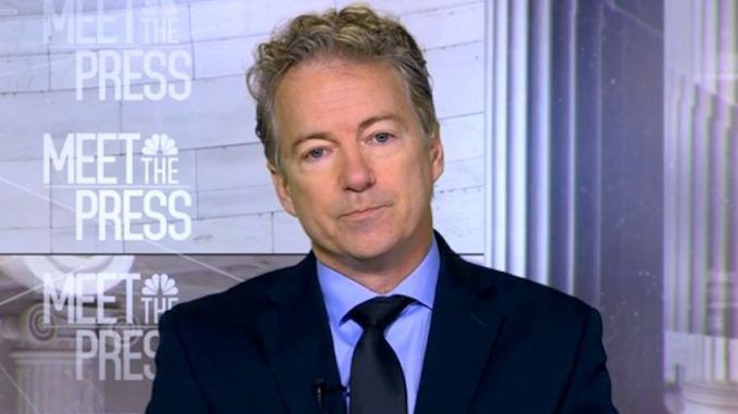 Rand Paul says its time to investigate Democrats over Ukraine letter