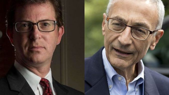 CIA Whistleblower attorney Mark Zaid has ties to former Clinton campaign chair John Podesta