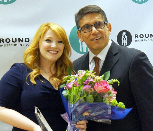 She was awarded Secondary Teacher of the Year in May last year (pictured)