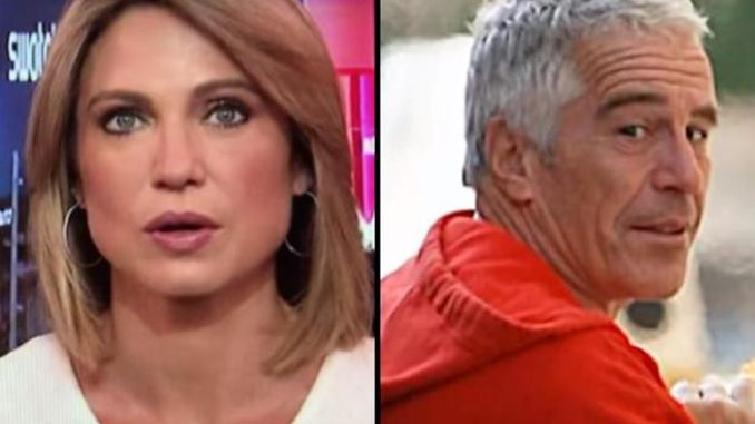 ABC co-host Amy Robach said in a hot mic that her network had information about Jeffrey Epstein three years ago but refused to run the story.