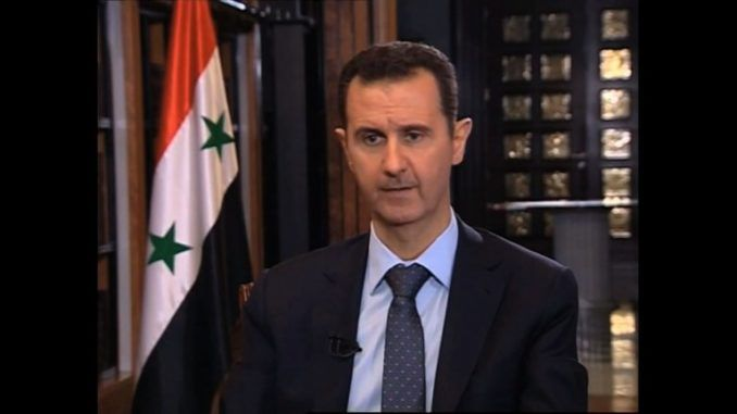 President Assad accuses EU of sponsoring terrorists in Syria