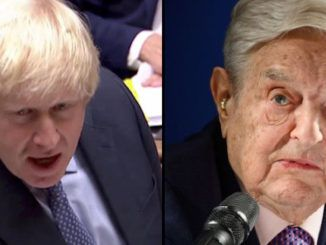 """British Prime Minister Boris Johnson has called for an """"urgent"""" probe into George Soros' activities during the Brexit referendum."""
