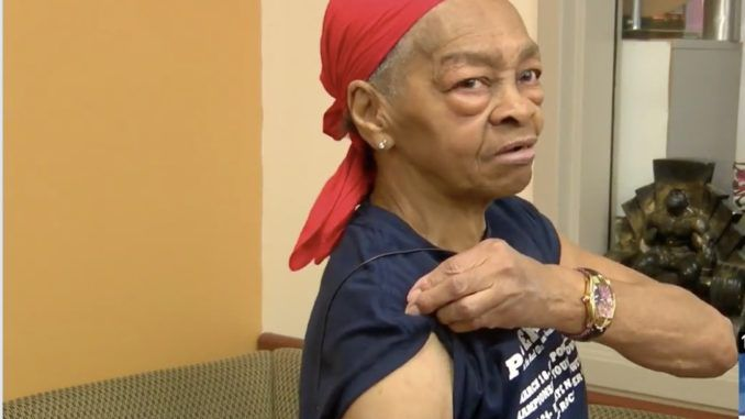 """An 82-year-old Rochester woman who can deadlift 225 pounds found herself in danger after a man broke down her front door and entered her home – until she took matters into her own hands, picked up a table and """"went to work on him."""""""