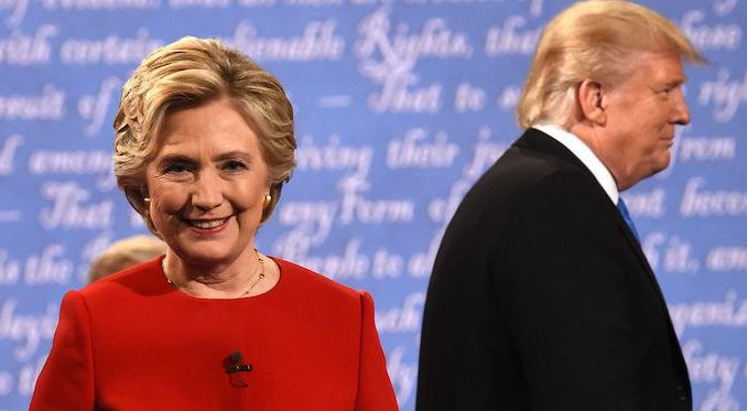 Hillary Clinton tells BBC Radio 5 Live that she's under enormous pressure to enter the 2020 race