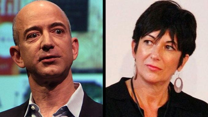 Epstein's child sex procurer Ghislaine Maxwell attended a secret retreat with Amazon's Jeff Bezos in 2018