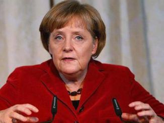 Angela Merkel argues against free speech in German parliament