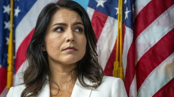 "The highest levels of the U.S. government are actively covering up the truth about the Sept. 11, 2001 attacks, according to Rep. Tulsi Gabbard (D-Hawaii) who says the American people ""deserve all the information on 9/11."""