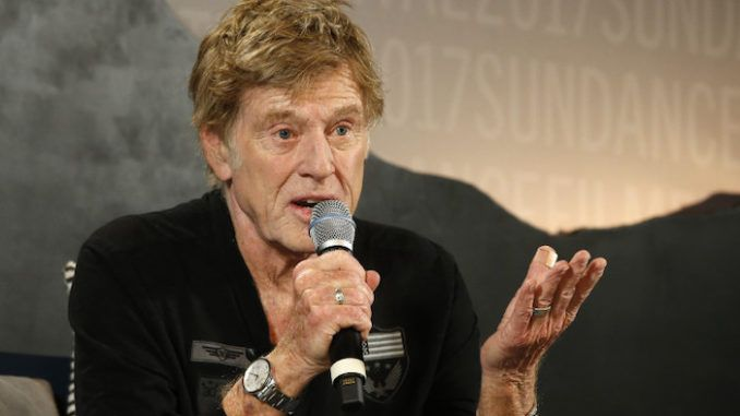 Robert Redford says Trump's dictator-like presidency needs to end